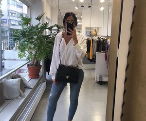 bag, outfit, and sappe image