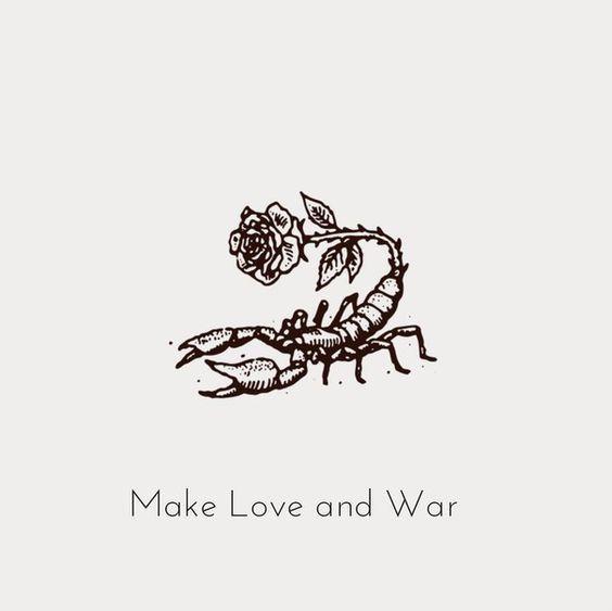 rose and scorpio image