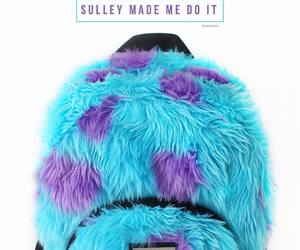 backpack, bolso, and sulley image