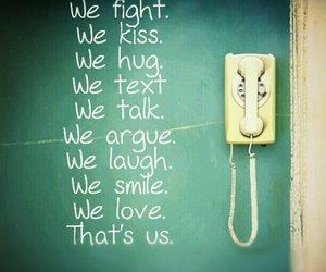 hug, kiss, and laugh image