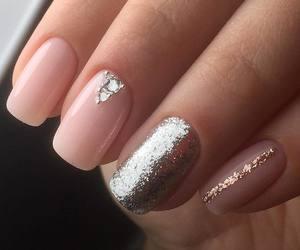 girl, makeup, and nail polish image