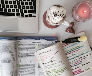 candle and study image