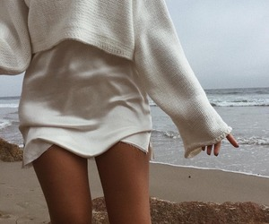 fashion, style, and beach image