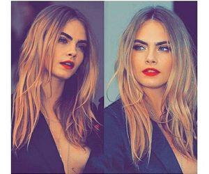 model, girl, and lips image