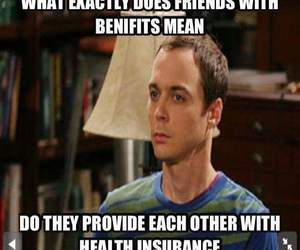 health, sheldon, and friendswithbenefits image