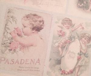 pink, pastel, and vintage image