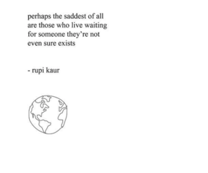 quotes, poem, and rupi kaur image