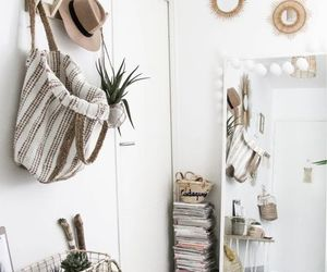 bedroom, decor, and kitchen image