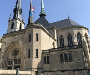 cathedral, luxembourg, and luxemburg image