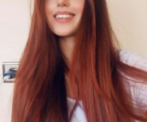 follow, ginger hair, and ginger image