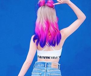 Calvin Klein, fashion, and hair image