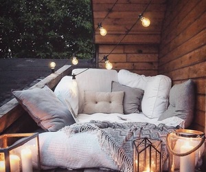 light, home, and cozy image