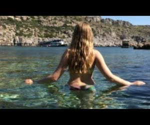 beautiful place, diving, and summer image
