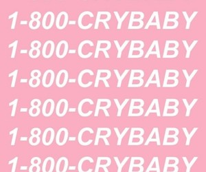background, crybaby, and pink image