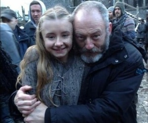 game of thrones, hug, and serie image