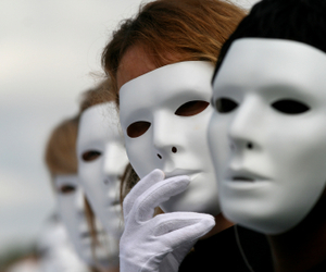 The mask that people are putting