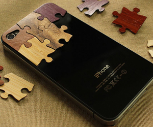 iphone, puzzle, and apple image
