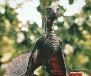 dragon, gif, and game of thrones image