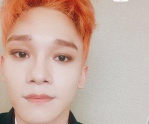 Chen, orange, and kim jongdae image