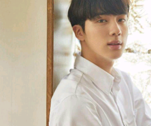 handsome, jin, and photoshoot image