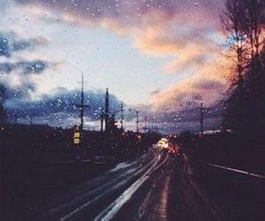 The many joys of rainy days.