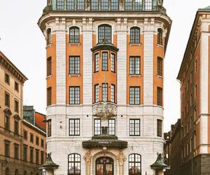 street, sweden, and architecture image