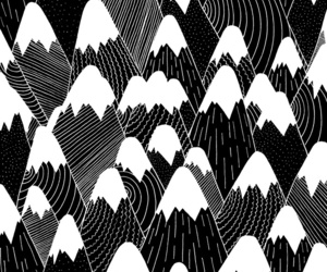 background, black and white, and dots image