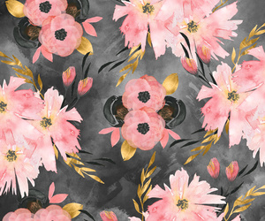 background, blush, and botanical image