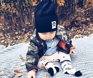 autumn, baby, and boy image