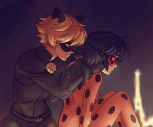 fan art, cute, and ladybug image