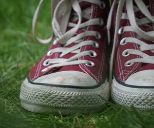 converse, photography, and bordeaux image