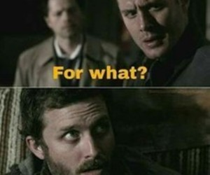 chuck, dean winchester, and funny image