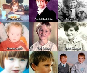 harrypotter, draco, and kids image