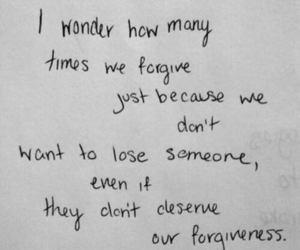 quote, forgive, and sad image