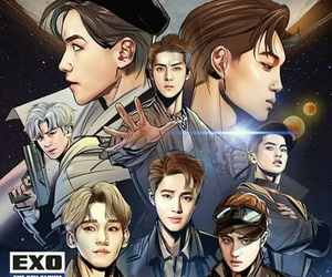 exo, power, and sehun image