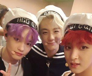 jeno, haechan, and mark image