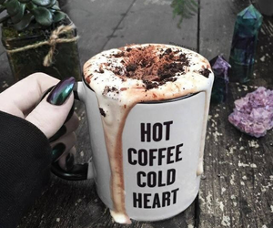 coffee, heart, and Hot image