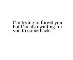 quotes, forget, and come back image