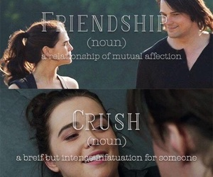 book, friendship, and crush image