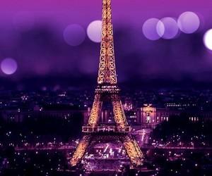 paris, wallpaper, and purple image