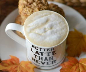 autumn, fall, and latte image