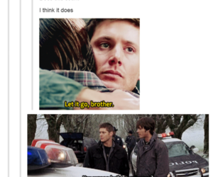 supernatural, frozen, and funny image