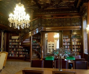 book, library, and hungary image