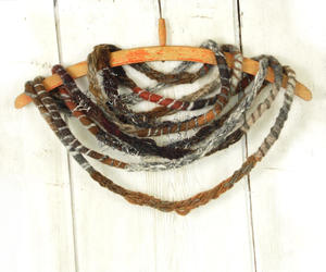 etsy, chunky scarf, and knit scarves image