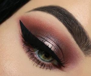 eyeshadow, girl, and lux image