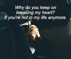 heartbreak, lockscreen, and post image