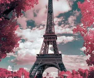 wallpaper, paris, and parís image