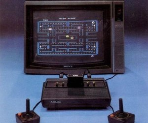 atari, game, and pacman image