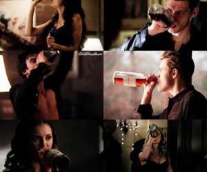 katherine, party, and Vampire Diaries image