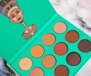 eyeshadow palette, makeup, and tumblr image